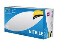 GlovTEC Premium Medical Black - rękawice nitrylowe, czarne